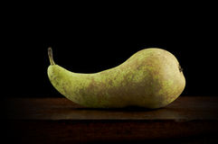 Sleeping pear Royalty Free Stock Image