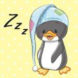 Sleeping Penguin Royalty Free Stock Image