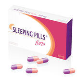 Sleeping Pills Drugs Packet Stock Photography
