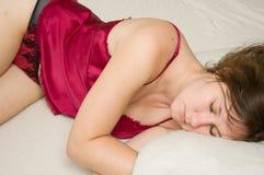 Sleeping Stock Photo