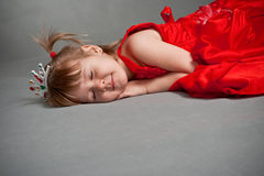 Sleeping princess Royalty Free Stock Photography