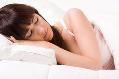 Sleeping princess Stock Image