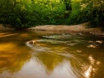 Sleeping River. A beautiful morning on the Ararat river in North Carolina Royalty Free Stock Photos