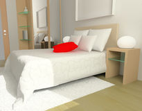 Sleeping room Royalty Free Stock Images