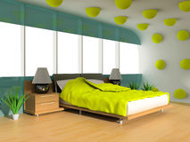 Sleeping room Stock Photography