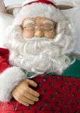 Sleeping Santa Stock Images