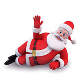 Sleeping santa claus Royalty Free Stock Photo