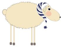 Sleeping sheep Royalty Free Stock Photos