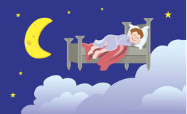 Sleeping sound Stock Images