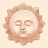Sleeping sun Royalty Free Stock Photography
