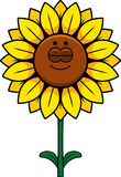 Smiling Sunflower Clip Art Stock Photos, Images ...