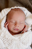 Sleeping sweet newborn Royalty Free Stock Images