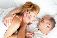 Sleeping together Royalty Free Stock Photo