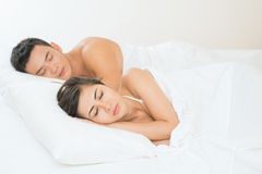 Sleeping together Stock Image