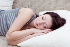 Sleeping well Stock Photo