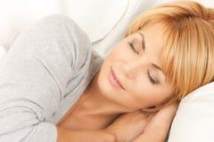 Free Sleeping Woman Royalty Free Stock Image - 40465436