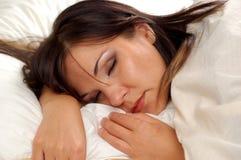Sleeping Woman 8 Stock Image