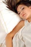 Sleeping woman #8 Royalty Free Stock Photo