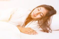 Sleeping Women Royalty Free Stock Photography