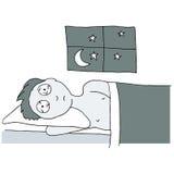 Sleepless Night Royalty Free Stock Image
