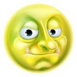 Sleeplijn Emoji Emoticon Royalty-vrije Stock Afbeelding