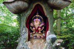 Sleeplijnkoning in themapark DE Efteling in Nederland royalty-vrije stock afbeelding