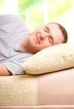Sleepling man Stock Photos