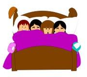 sleepover obraz royalty free