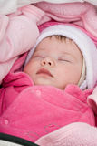 Sleepping baby Royalty Free Stock Photos