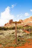 Sleeptellers in Sedona Arizona Arizona stock afbeelding