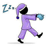 Sleepwalker Stock Image