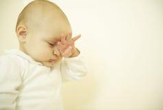 Sleepy Baby Stock Photography