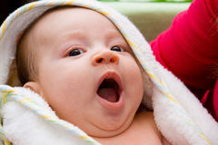 Sleepy baby Royalty Free Stock Photography