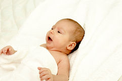 Sleepy baby Royalty Free Stock Photo