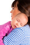 Sleepy baby Stock Photo