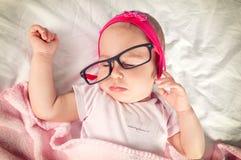 Sleepy baby Stock Image