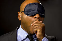 Sleepy Businessman Stock Photos