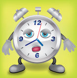 Sleepy clock Stock Photo