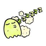 sleepy ghost cartoon Stock Photos