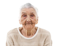 Sleepy grandma Royalty Free Stock Photography