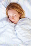 Sleepy head Royalty Free Stock Photos