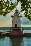 Sleepy Hollow latarnia morska na pięknym słonecznym dniu, sleepy hollow Nowy Jork, Upstate, NY, usa obraz stock