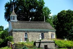 Sleepy Hollow, NY: 1685 Old Dutch Church Stock Photography