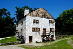 Sleepy Hollow, NY: Philipsburg Manor House Stock Photos