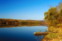 The sleepy little river scenery Jilin Stock Photos