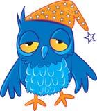 Sleepy Owl Stock Photo