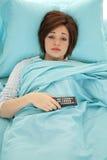 Sleepy remote Stock Photo