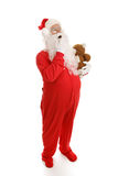 Sleepy Santa Royalty Free Stock Photography