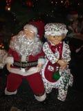 Sleepy Santa Royalty Free Stock Images