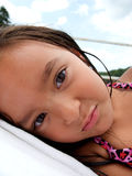 Sleepy young girl Royalty Free Stock Photography